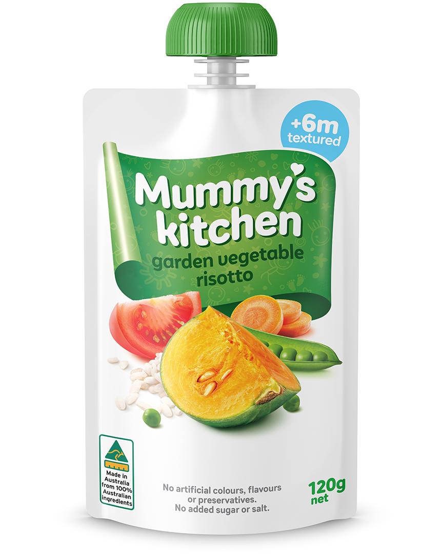 Mummy's Kitchen Garden vegetable Rissotto